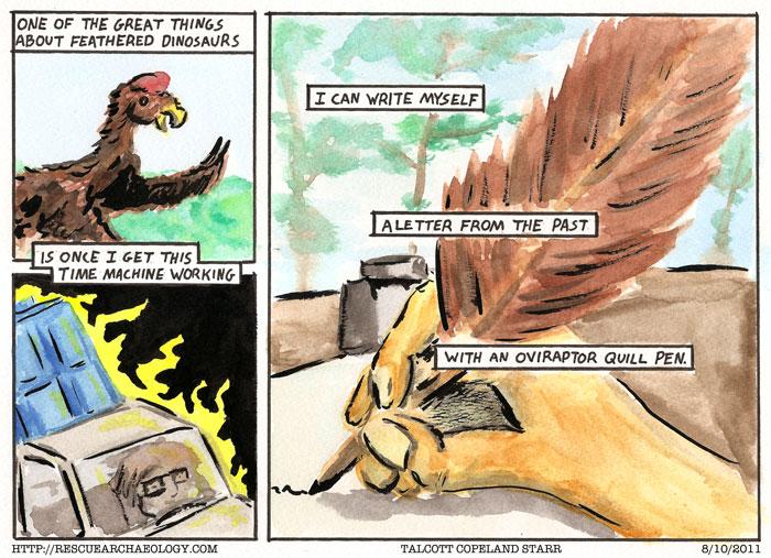 Oviraptor Letter