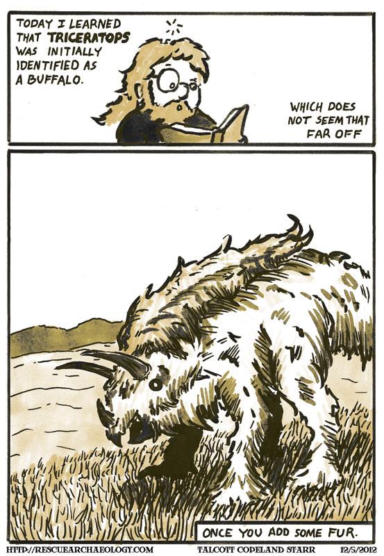 Buffalo buffalo Triceratops