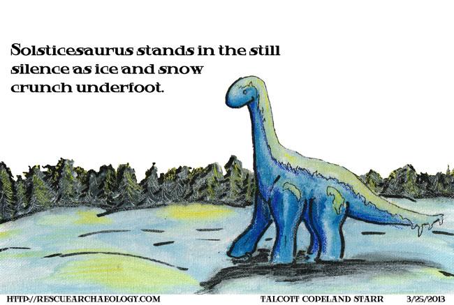 Solsticesaurus 2013