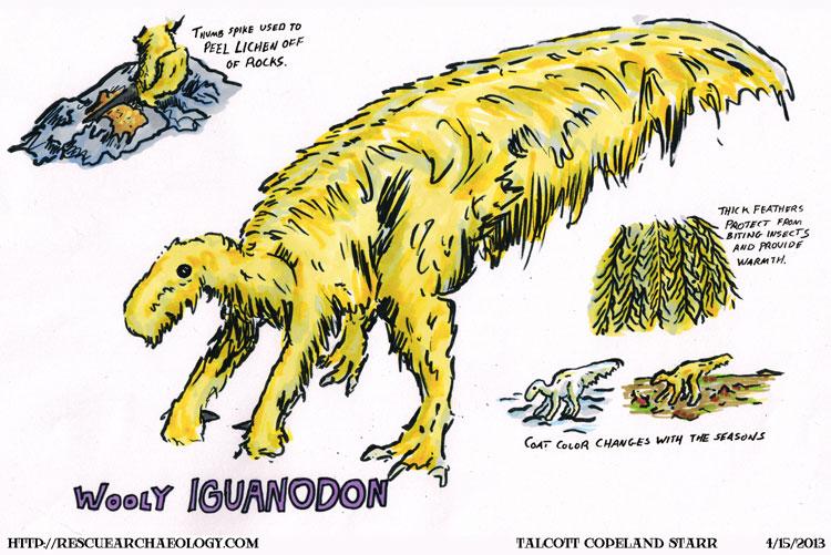 Wooly Iguanodon